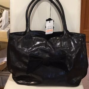 NWT Madi  Leather large bag